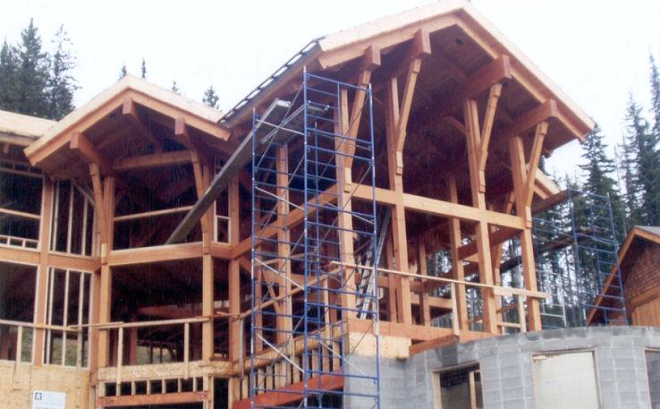 Timber Frame Components Kamloops Bc Canada