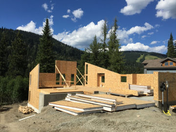 Sip home timber and millwork components sun peaks bc canada for Sips panels canada