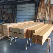 Douglas Fir Timber Frame Components