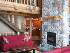 Log post and beam homes