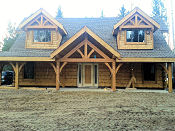 SIP Timber Frame Accent Valemount BC